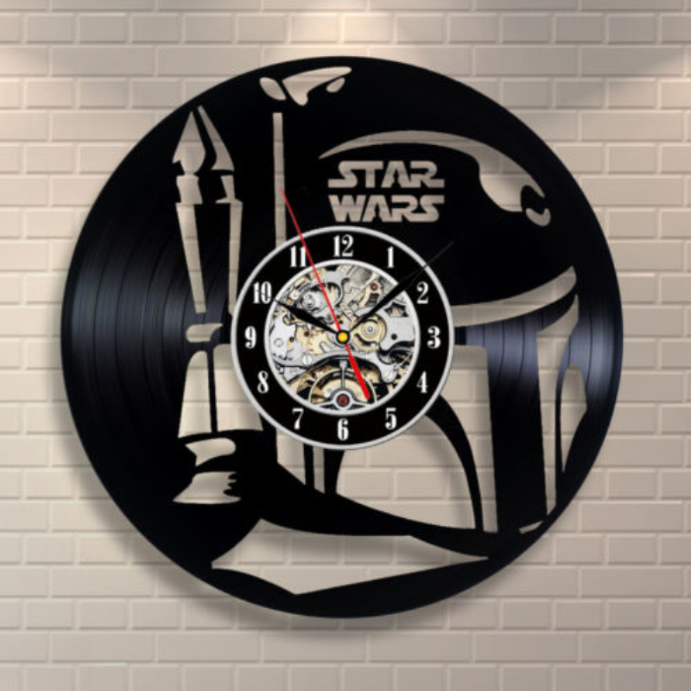 Hanging Records On Wall vinyl records decorations promotion-shop for promotional vinyl