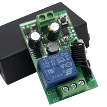 AC 250V 110V 220V 1CH 433Mhz Không Dây Đa Năng Điều Khiển Từ Xa Module Relay Thông Minh Nhận nhà Để Xe Cửa, động Cơ