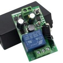 AC 250V 110V 220V 1CH 433Mhz evrensel kablosuz uzaktan kumanda anahtarı röle modülü akıllı alıcı garaj kapısı, motor