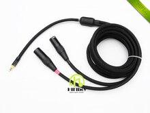 XLR кабель HiFi кабель 3pin XLR 3.5 AUX XLR кабель аудио кабель-удлинитель шнура Бесплатная доставка