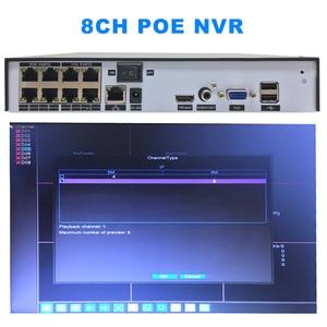 Image 4 - NVR POE CCTV registratore H.265 H.264 4/8CH Video Recorder NVR di Sicurezza Macchina Fotografica del IP di POE video Di Sorveglianza ONVIF 2MP /5MP di Rete DVR