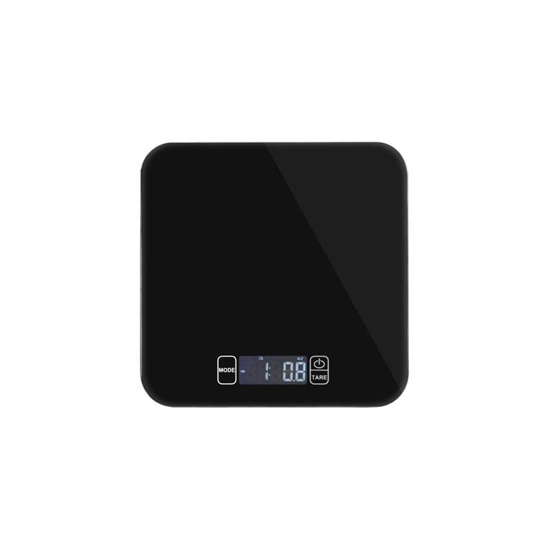 15 Kg Digitale Keukenweegschaal Multifunctionele Voedsel Schaal Voor Koken Met Grote Back-lit Lcd Display (zwart) Elegante Vorm