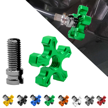 Universal Motorcycle M10&M8*1.25 CNC Aluminum Clutch Cable Wire Adjuster For Kawasaki ZX400C ZX6R ZX7R ZX900GP ZX9R ZXR400
