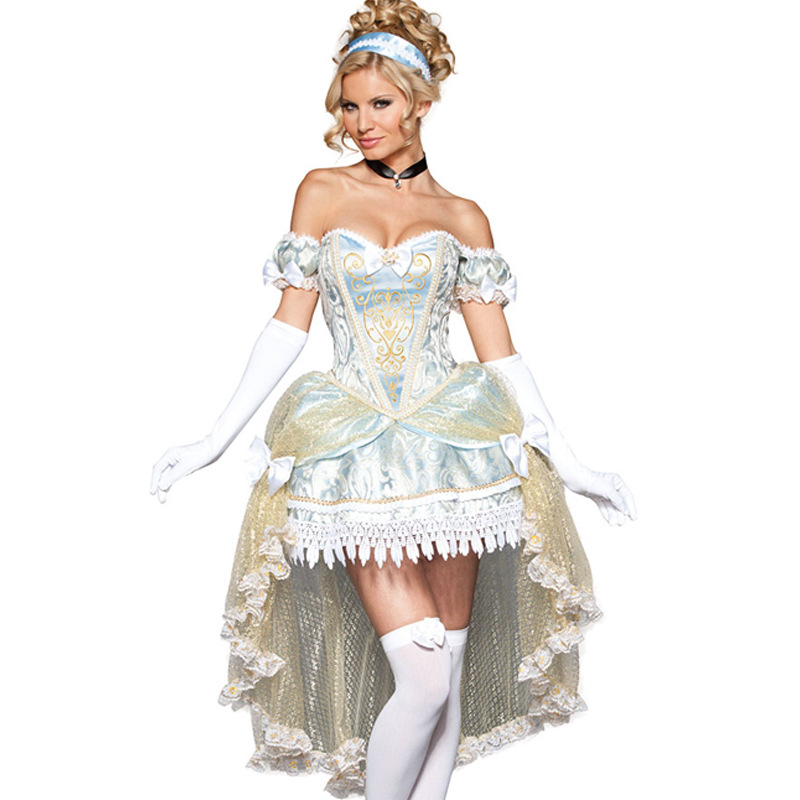 Movie Sandy Girl Cinderella Princess Adult Women