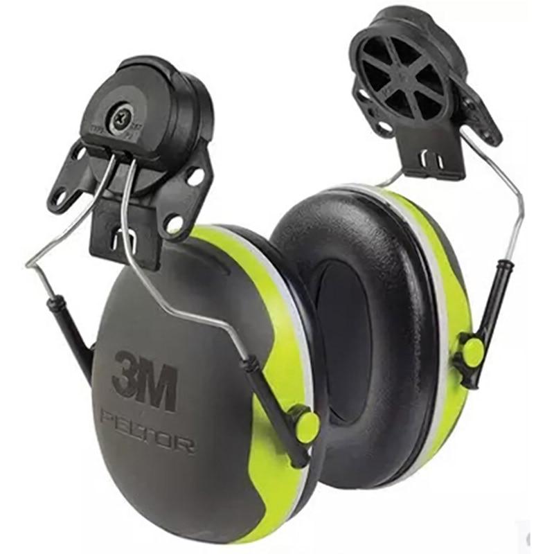 Image 2 - 3M X4P3 type de suspension cache oreilles disolation phonique pour casque de sécurité protecteur doreille 3m réduire le bruit mécanique cache oreilles industriels-in Oreille Protecteur from Sécurité et Protection on AliExpress