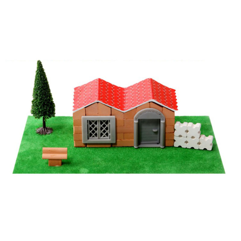 1 Pc Creative House Cottage DIY Building Blocks Mini Door Window Assemble Part Compatible Toy For Children ...