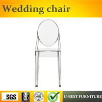 U BEST Simple design popular colorful cheap side plastic chair chair for restaurant