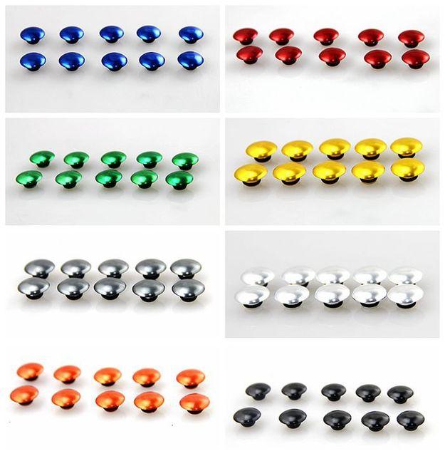 10 xBolt cubierta de la tapa tapón hexagonal llave Allen motocicleta bici del deporte Cruiser 10 MM y 8 MM y 6 MM 3 tamaño
