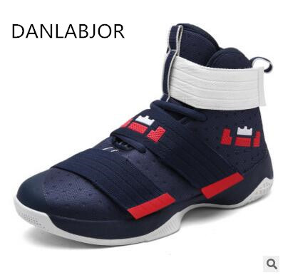 Basketball Shoes for Men and Women Lebron James Basket Courts Lovers Sports  Shoes 2017 Super Star Lebron Black Sneaker Zapatos aeb466d25b
