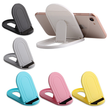 Cell Phone Stand Portable Foldable Desktop Mobile Holders Adjustable Universal Multi-Angle Cradle for Tablet iPhone Xiaomi