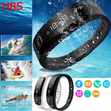 Bluetooth H8 Smart Smart Armband Band für Android iOS mit Fitness Schrittzähler Armband Call Reminder Smartband Zeit Smartwatch