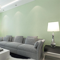 Beibehang Papel De Parede Simple Environmental Protection Non Woven Plain Imitation Straw Wallpaper Light Living Bedroom