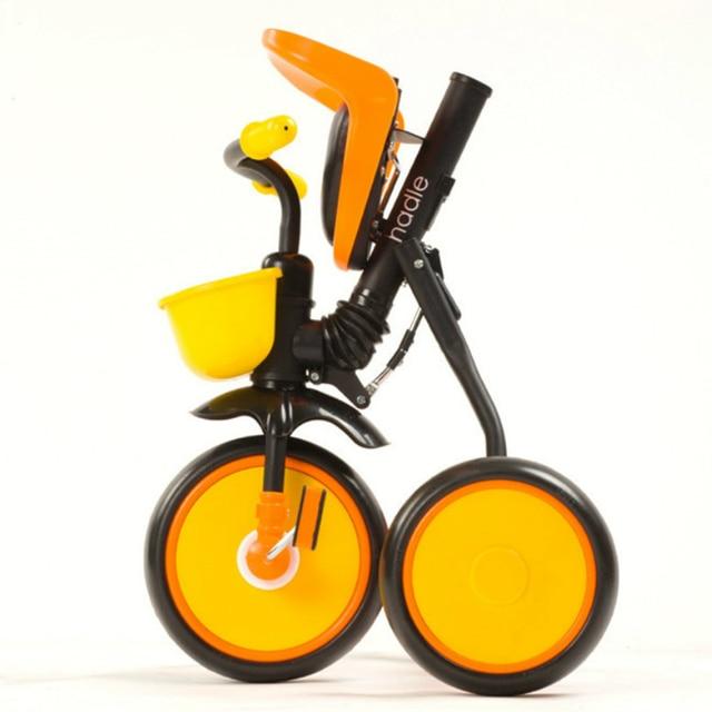 Us 15909 Portatile Pieghevole Triciclo Bici Per Bambini 2 A 5 Anni Di Età Del Bambino Semplice Bambino Passeggino Camminatore Bambino Bicicletta