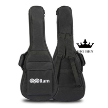 Quality 34 guitar bag, backpack shoulders shockproof thickening sponge