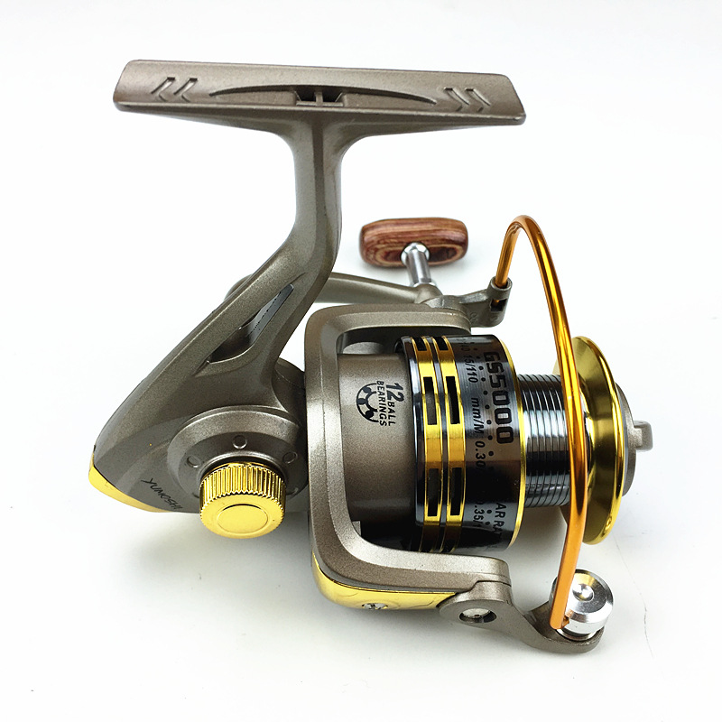Battlesea Fishing-Reel Reel-13kg Spinning Power-Bass-Carp Max Drag Treant-Ii 2000H title=