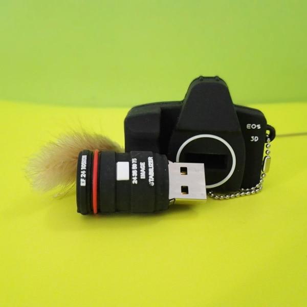 fashion camera model pendrive 4gb 64gb usb flash drive pen drive card memory stick drives memory stick t souvenir r14