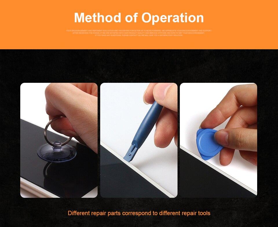 JelBo 33 в 1 инструмент для ремонта мобильных телефонов набор маленьких игрушек набор ручных инструментов Набор отверток для мобильного телефона
