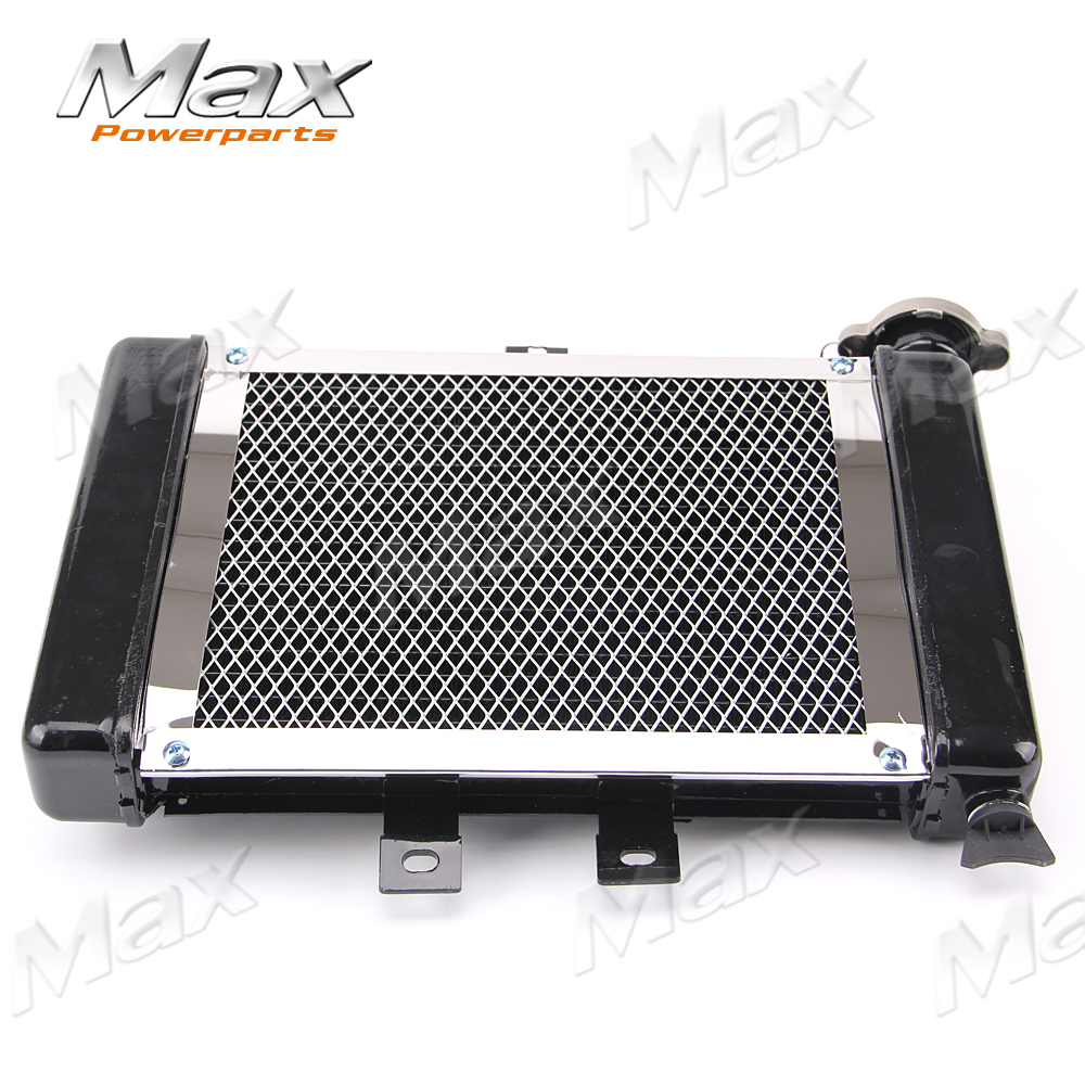 ФОТО Motorcycle Big Radiators Cooling System for 200cc-250cc Water Cooled Water Cooling  ATV Dirt Bike & Go Kart  KAWASAKI SU KUZI