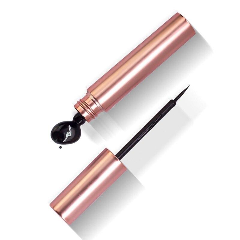 Newest Long lasting Waterproof Eyeliner Magnetic Liquid Eye Liner Pen Pencil Makeup Cosmetic Beauty Tool Easy to Wear in Eye Shadow Liner Combination from Beauty Health