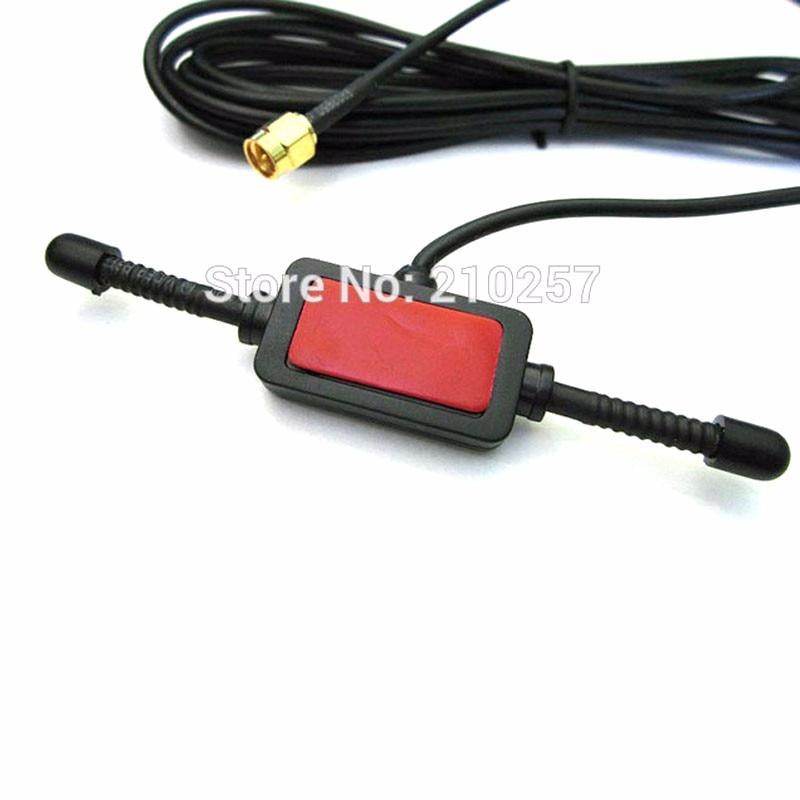 imágenes para Envío Gratis 1 unids 900 Mhz-1800 Mhz Gsm Gprs Sma Macho Conector Antena 3dbi Cuerno 300 cm Cable