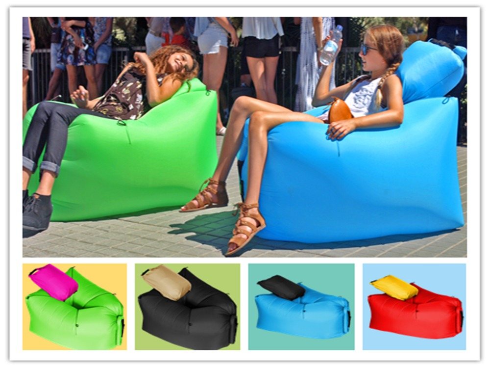 2016 First Air Chair Camping Inflatable Air Chair Lay Bag Leisure Hang out Lo