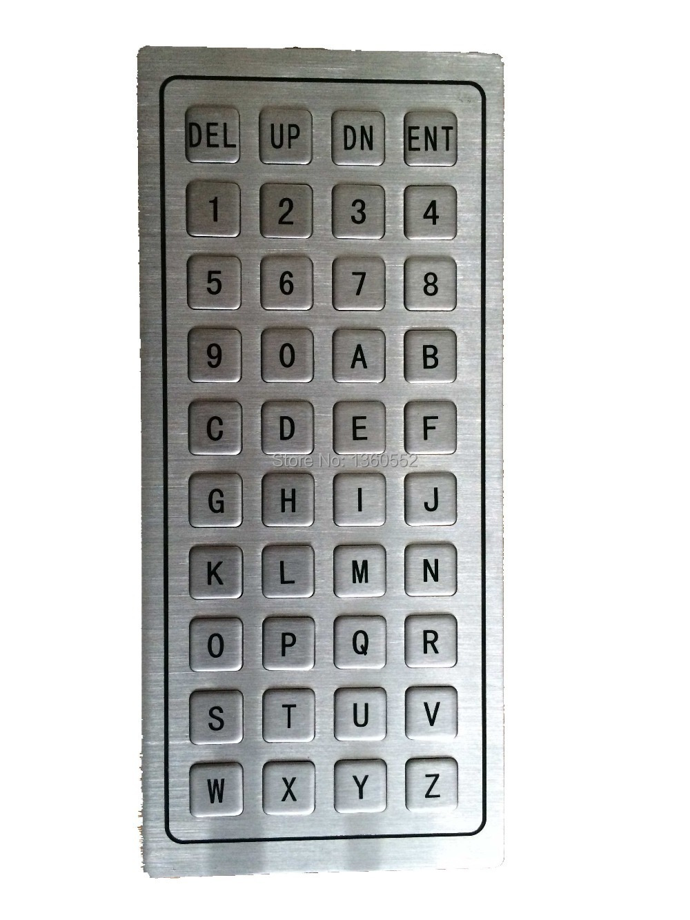 keyboard letter numbers