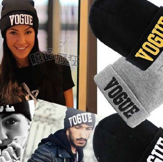 Aliexpress.com Comprar Moda Beanie 2016 marca VOGUE nuevo deporte de invierno de Hip Hop hombres gorro de punto sombreros para hombre y mujeres ocasional