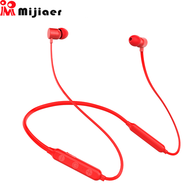 Mijiaer B-x9 Sport Bluetooth Earphones audifonos Wireless Headphone Bluetooth Waterproof Headset In-ear Earbuds for Phone Xiaomi