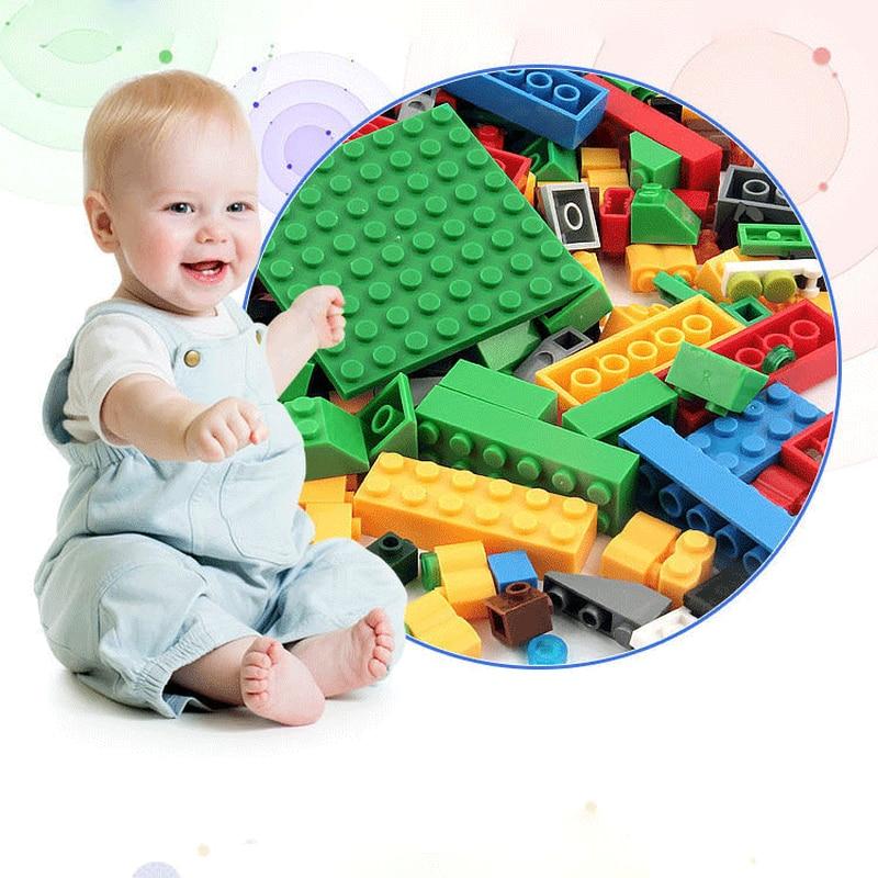 500PCS Childrens Creative Building Blocks ABS Plastic DIY Assembling Spelling Toys