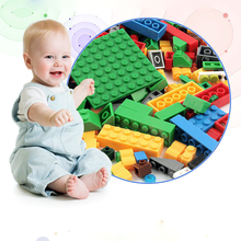 500PCS Childrens Creative Building Blocks ABS Plastic DIY Assembling Spelling Toys