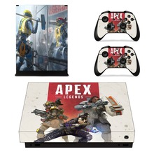 Apex Legends Xbox One X Skin Sticker Decal Vinyl For Xbox One X and Controllers