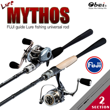 ultralight spinning casting carbon lure fishing rod spining FUJI information rods fishing deal with obei excessive stage high quality predator rod
