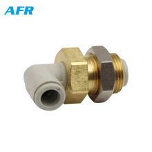 KQ2LE04-00 KQ2LE06-00 KQ2LE08-00 KQ2LE10-00 KQ2LE12-00 SMC TYPE Bulkhead Male Elbow Pneumatic Fittings for 4 6 8 10 12mm tube