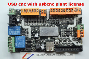 Image 5 - האחרון מוצר USB cnc עם usbcnc צמח רישיון, MDK1/4 ציר USB CNC כרטיס בקר ממשק לוח USBCNC להחלפה