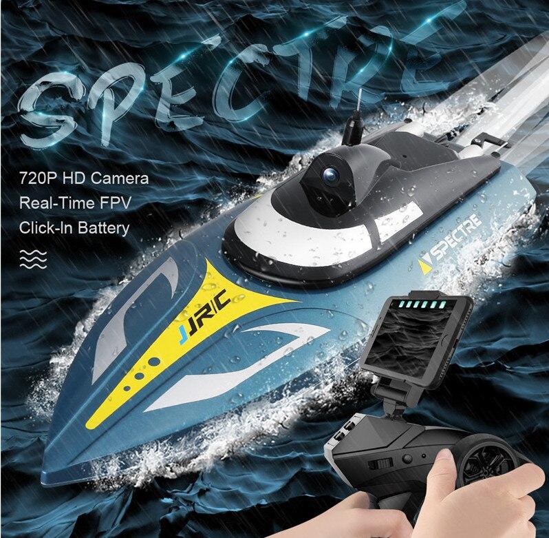 Fun RC bateau jouets pour enfants radio télécommande hors-bord jouets cadeau