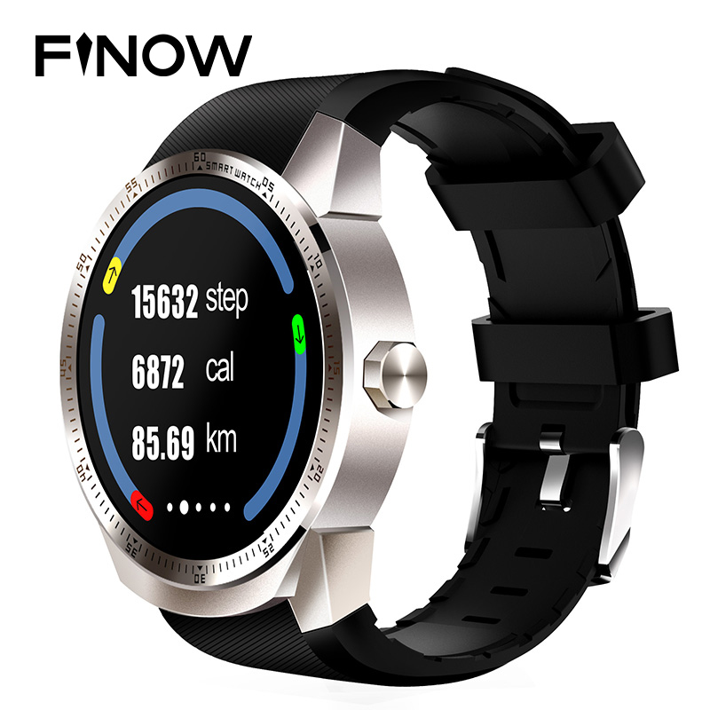где купить NEW FINOW K98H 3G Smartwatch Phone Android4.1 1.3inch Dual Core 4GB Waterproof Wristwatch Fashion with GPS Smart Watch with mic дешево
