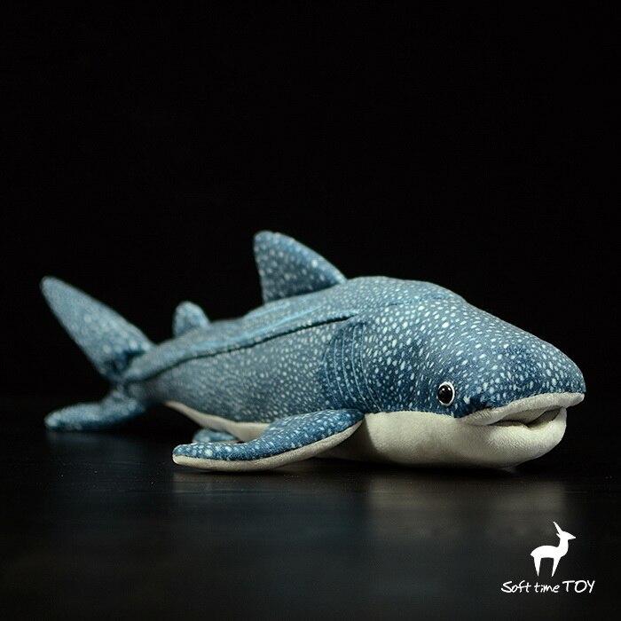 Grand Jouet Réel La Vie En Peluche Requin Baleine Poupée Jouet Animal Marin Poupées Jouets Pour Enfants Puzzle Oreiller Très Doux
