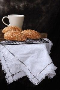 Image 2 - נוסטלגי סגנון פשתן בד צילום רקע אביזרי עבור פירות מזון שולחן ירי סטודיו צילום רקע קישוטים