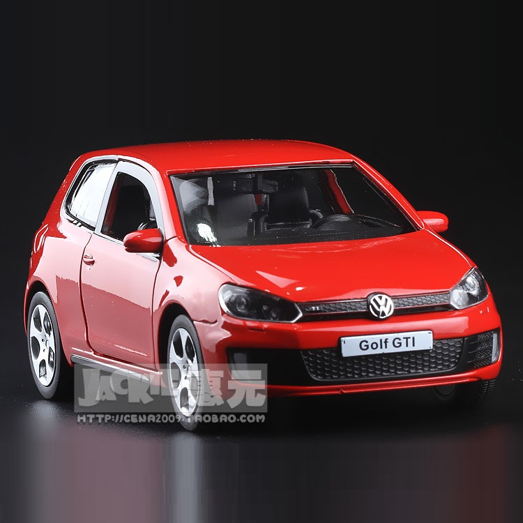 High Simulation Exquisite Diecasts & Toy Vehicles: RMZ City Car Styling Golf GTI 1:36 Alloy Diecast Model Toy Car
