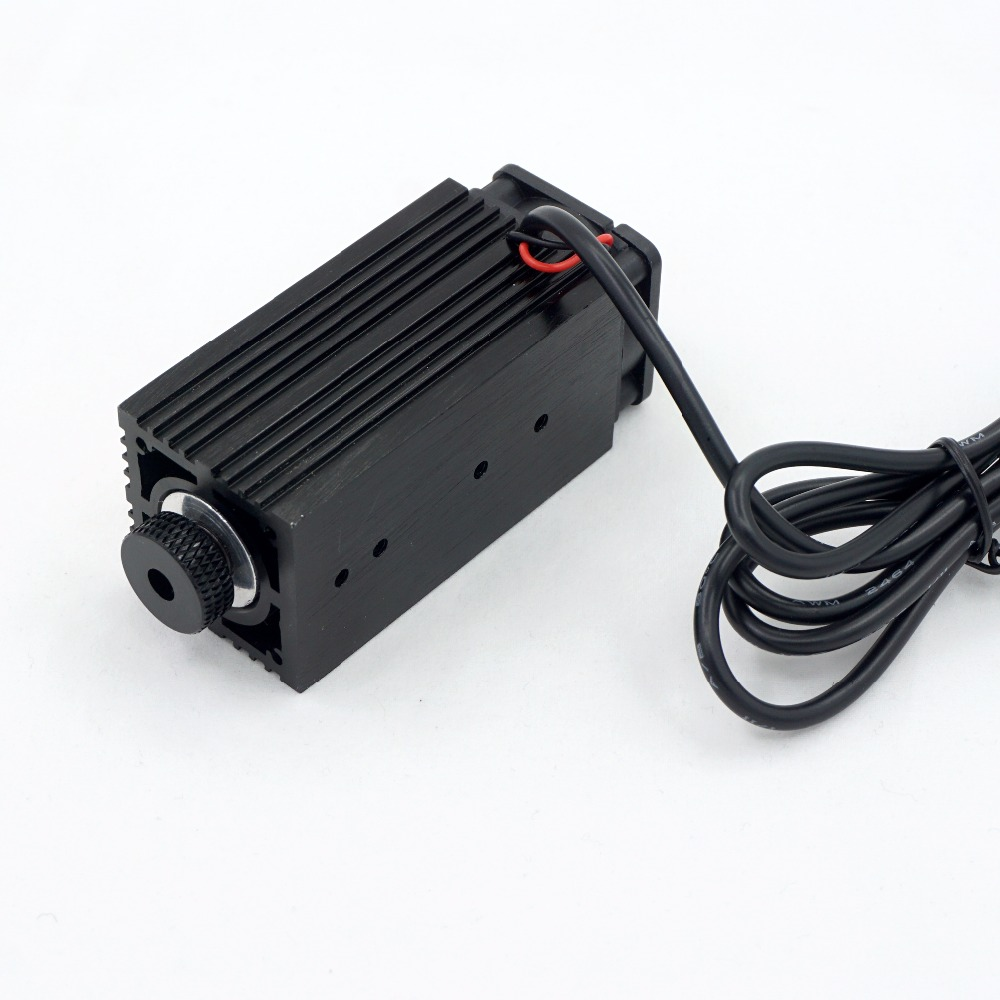 MOSKI, 2,5 W Blau Licht Laser Modul diode für Laser cnc Gravur Maschine High-power 450nm Fokussierbar netzteil, 2500mw