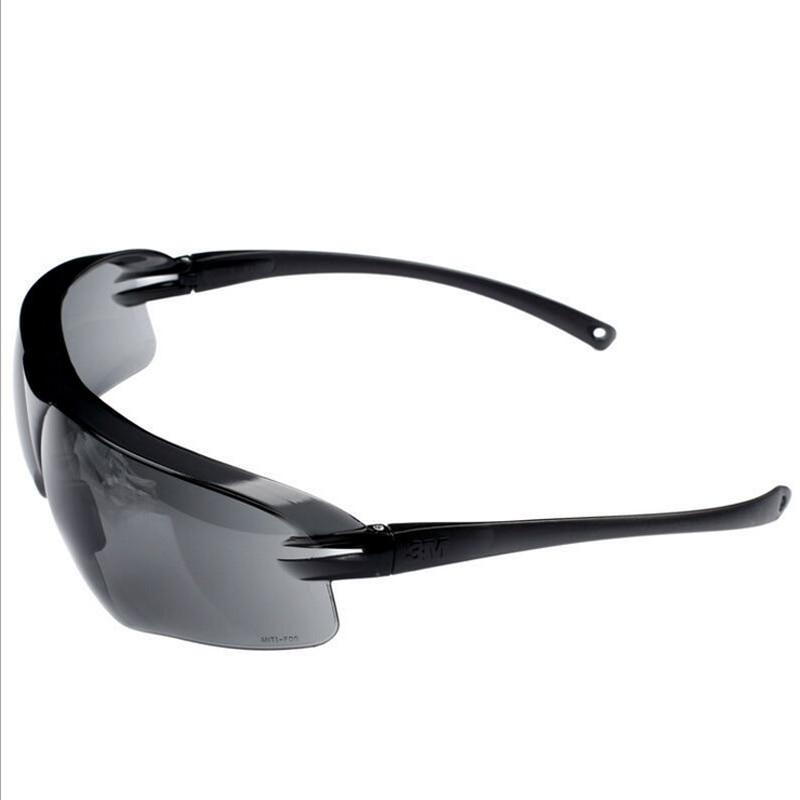 3M 10435 Keselamatan Potective Black Goggles Glasses Untuk Anti-UV - Keselamatan dan keamanan - Foto 5