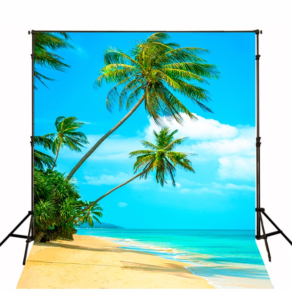 Sea Beach Photography Backgrounds Thin Cloth Vinyl Photo Backdrops Camera Fotografica Children Backgrounds For Photo Studio thin vinyl photography backdrop sea beach blue sky backgrounds for photo studio wedding background f 2614