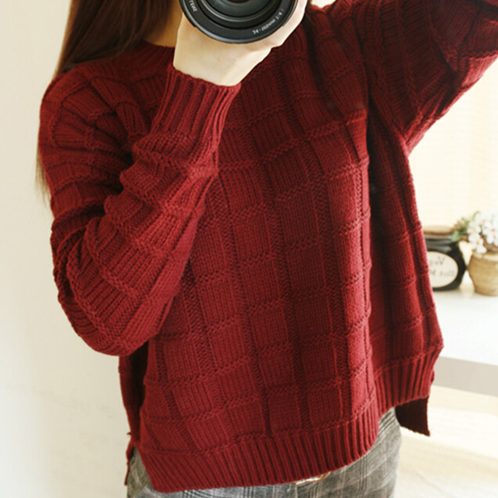 Popular Red Sweater-Buy Cheap Red Sweater lots from China Red ...