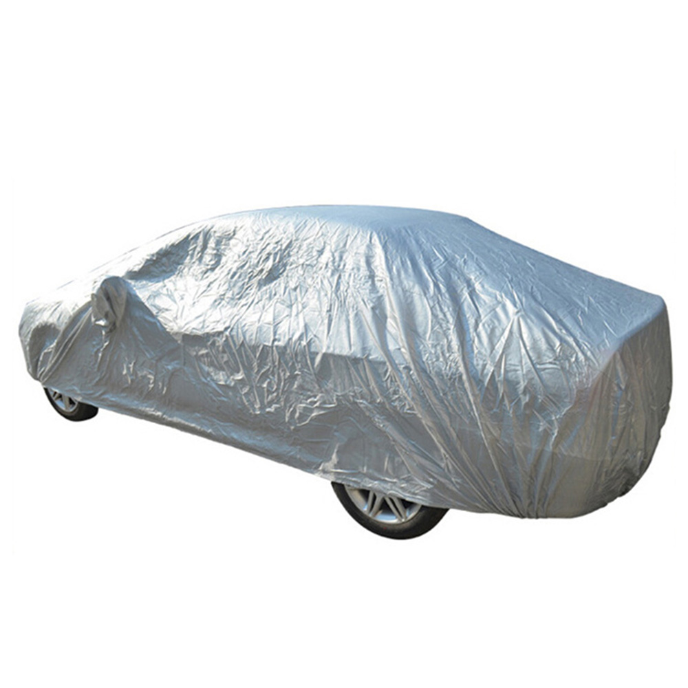 Interior Full Car Covers Size S / M / L / XL Indoor Outdoor Full Car Cover Sun UV Snow Dust Rain Resistant Car Free(China)