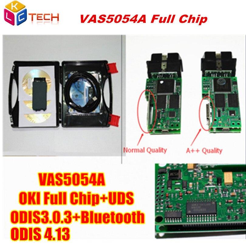 Цена за Imported полный OKI чип VAS 5054A диагностический инструмент VAS 5054 ODIS V3.0.3/4.13 VAS5054 VAS5054A Поддержка Bluetooth UDS протокол