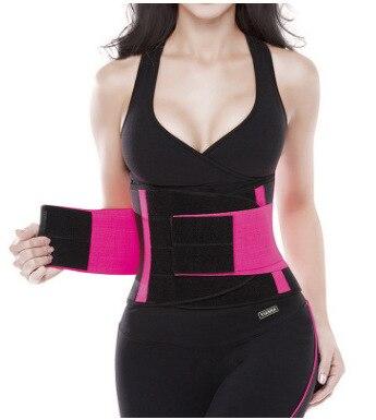 Mujeres Body Shaper cintura Trainer adelgazamiento cinturón ejercicio Fitness Shapewear quemar grasa Control firme Abdomen cinturón Waiste