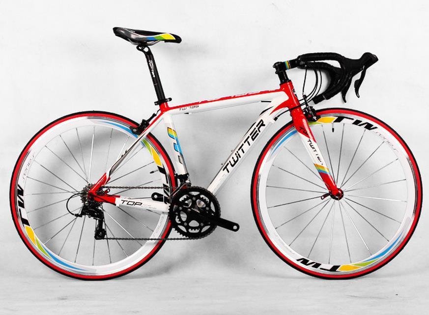 Carbon Fiber Road Bike Carbon Fiber Frame Men Bikes 18