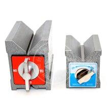Супер сильная Магнитная v-образная форма магнитного сиденья прецизионный переключатель типа, v-тип KV-1 треугольный стол режущий KV-2 стол магнит