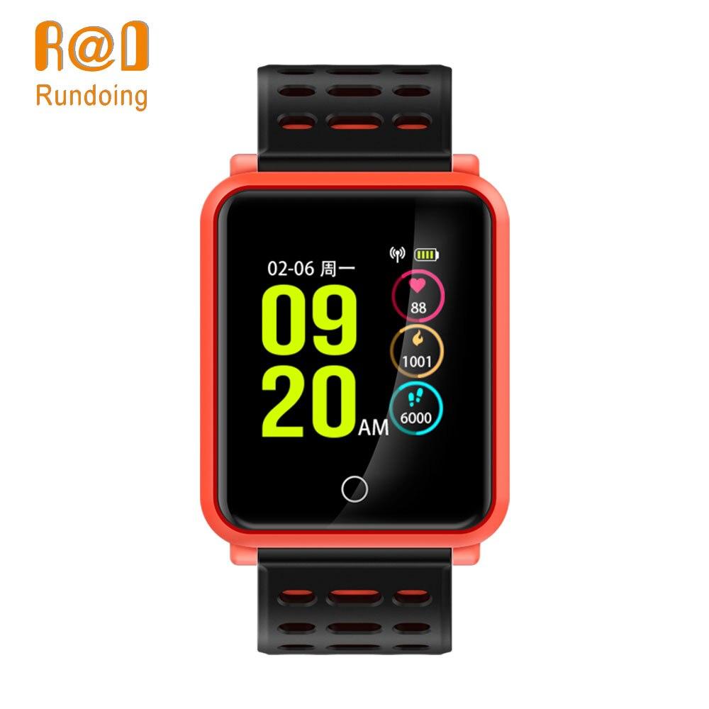 Rundoing N88 Astuto Della Vigilanza di Bluetooth inseguitore di Fitness 1.3 pollice Schermo a Colori Frequenza Cardiaca IP68 Impermeabile di nuoto di Sport smartwatch