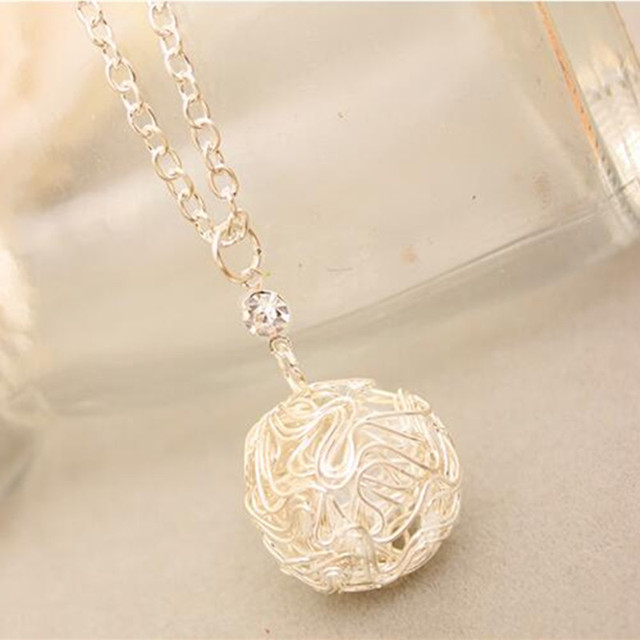 Silver Plated Fashion Necklace